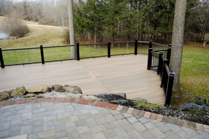 Custom TimberTech Deck, West Chester PA