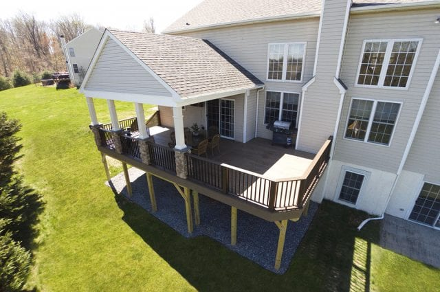 Custom TimberTech Deck/Porch, Garnet Valley PA