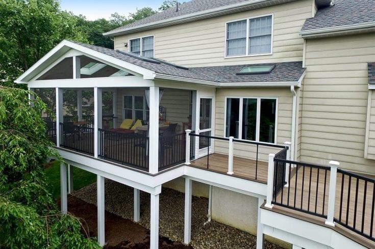 Custom TimberTech Deck/Porch, Phoenixville PA