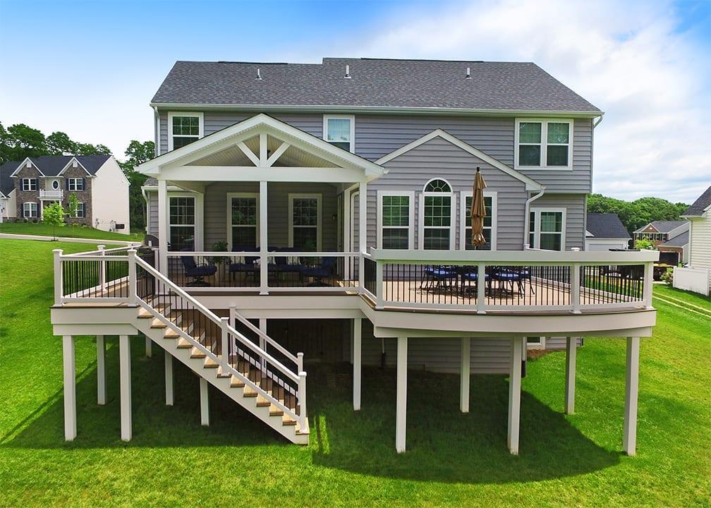 Custom TimberTech Deck/Porch, Avondale PA 1