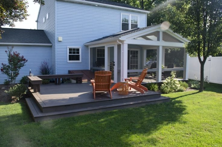 Custom TimberTech Deck/Screened in Porch, Lititz PA