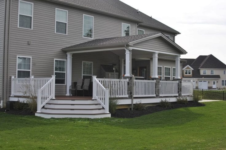 Custom TimberTech Deck/Porch, Camp Hill PA