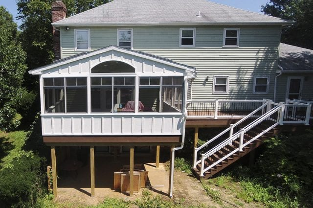 Custom Trex Deck/Porch, Hockessin DE