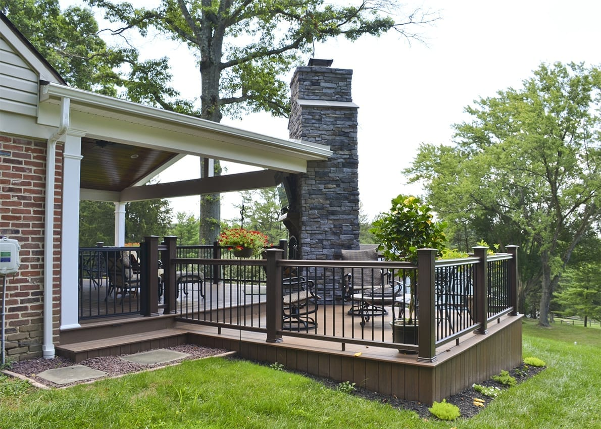 Custom TimberTech Deck/Porch, Media PA 1