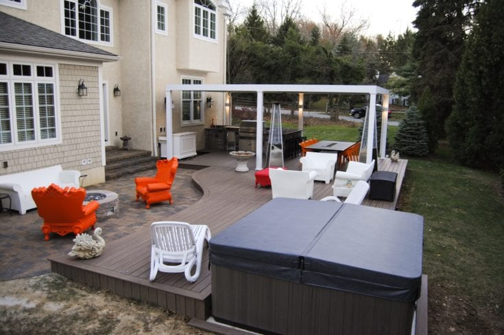 Custom TimberTech Deck/Patio, Berwyn PA
