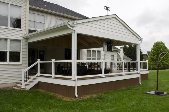 Custom TimberTech Deck/Porch, Glen Mills PA