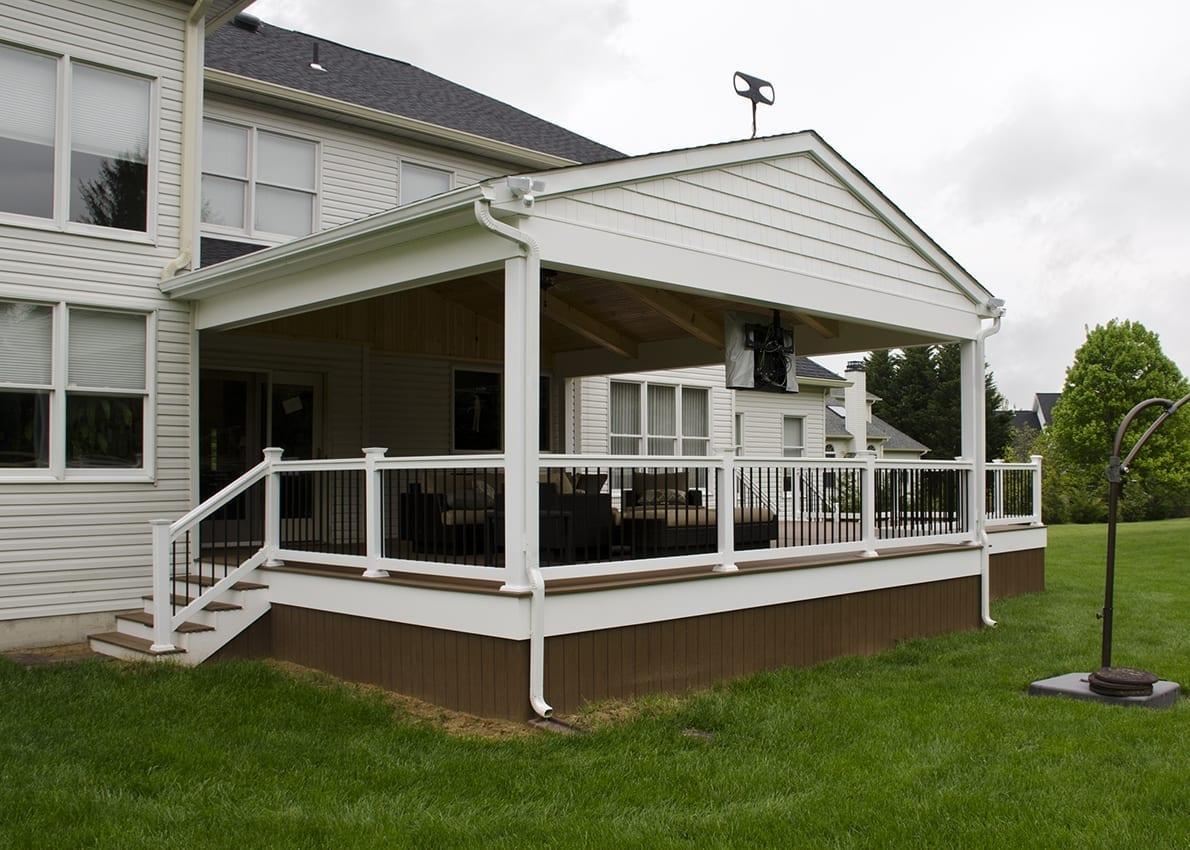 Custom TimberTech Deck/Porch, Glen Mills PA 1