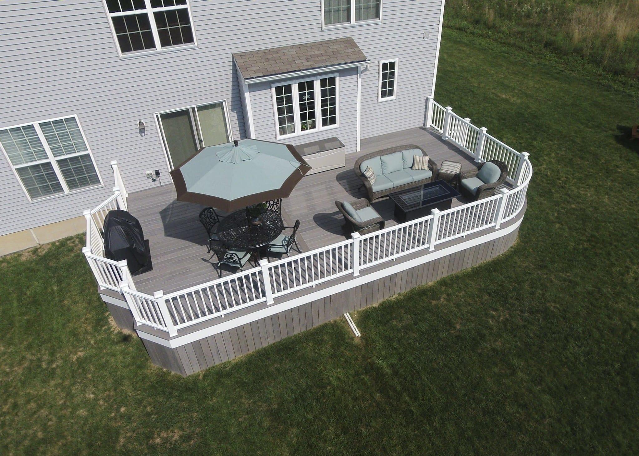 Custom TimberTech Deck, Harrisburg PA 1