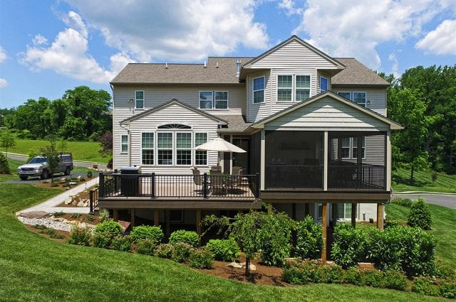 Custom TimberTech Deck/Screened Porch, Downingtown PA