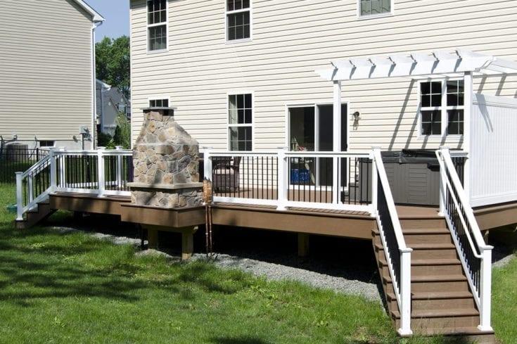 Custom TimberTech Deck, Gilbertsville PA