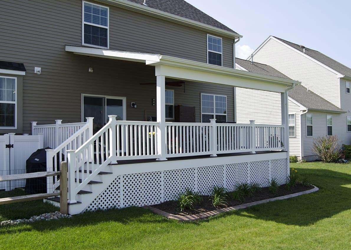 Custom Trex Deck/Porch, Gilbertsville PA 1