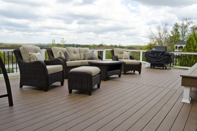 Custom Azek Deck/Screened Porch, West Chester PA