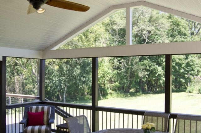 Custom TimberTech Deck/Screened Porch, West Chester PA