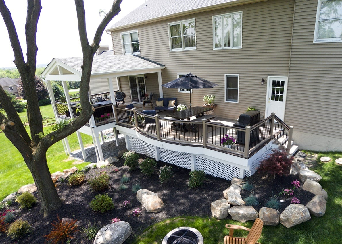 Custom TimberTech Deck/Porch, Downingtown PA 1