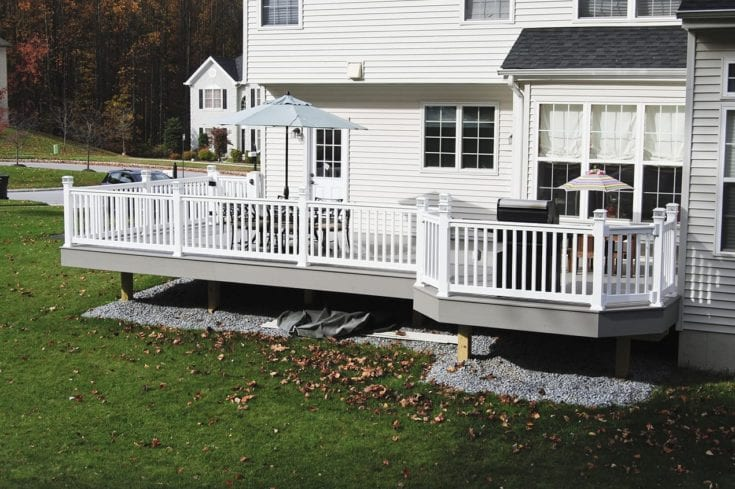 Custom TimberTech Deck, Romansville PA