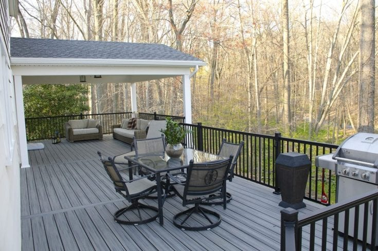 Custom Trex Deck/Porch, Malvern PA