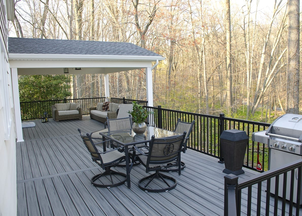 Custom Trex Deck/Porch, Malvern PA 1
