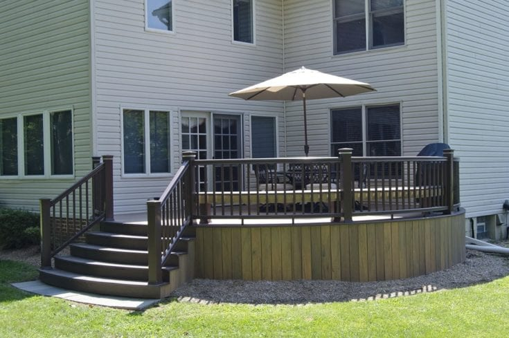 Custom TimberTech Deck, Maple Glen PA