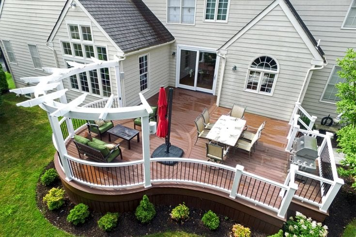 Custom Deck, Villanova PA