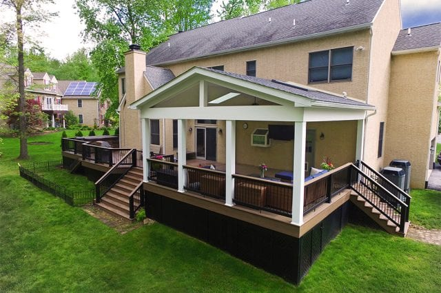 Custom TimberTech Deck/Porch, West Chester