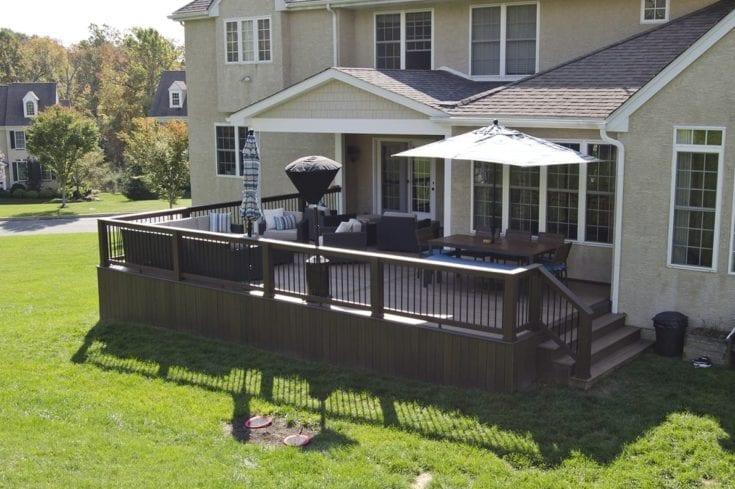 Custom TimberTech Deck/Porch, Glenmoore PA
