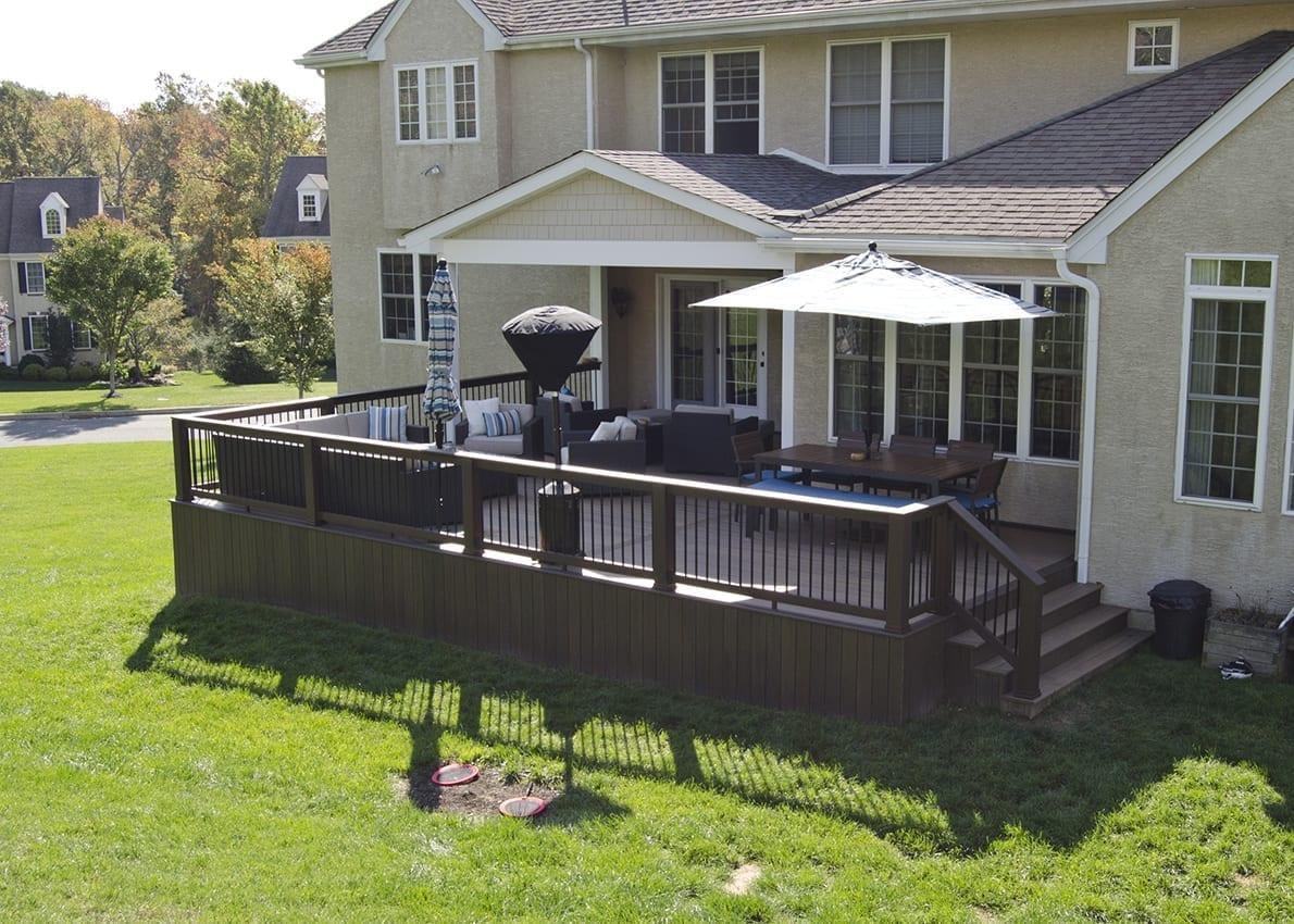 Custom TimberTech Deck/Porch, Glenmoore PA 1