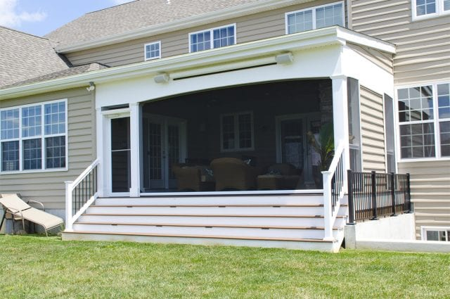 Custom TimberTech Deck/Screened In Porch, Landenberg PA