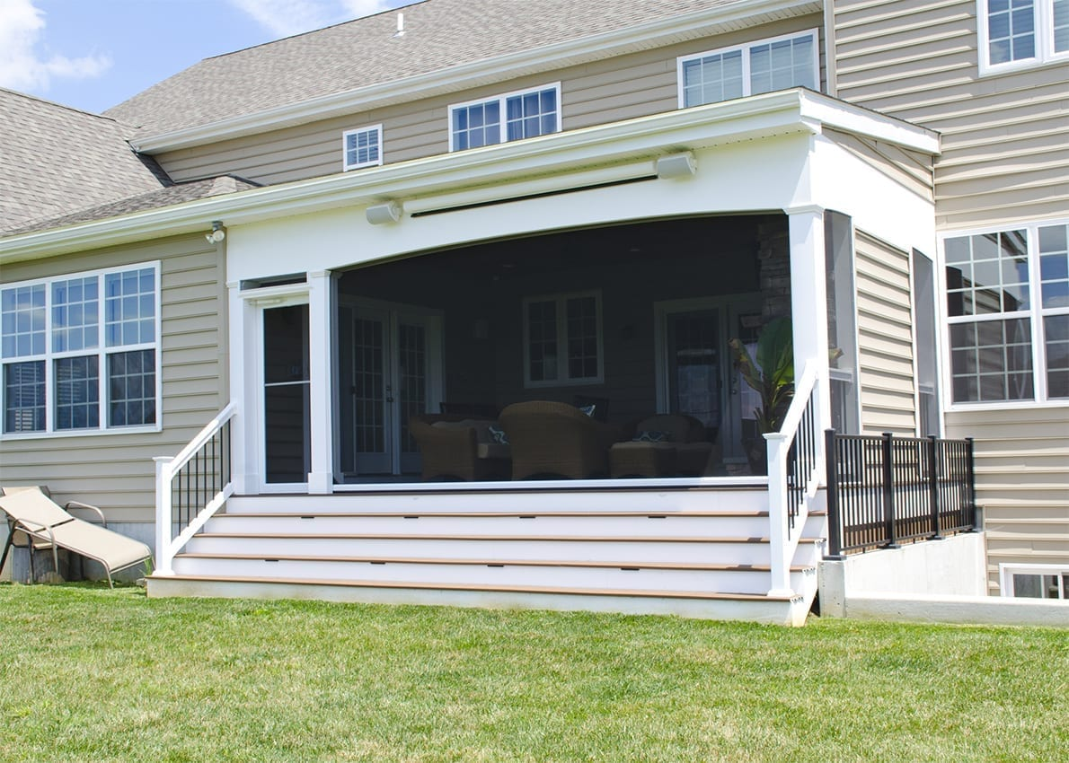 Custom TimberTech Deck/Screened In Porch, Landenberg PA 1