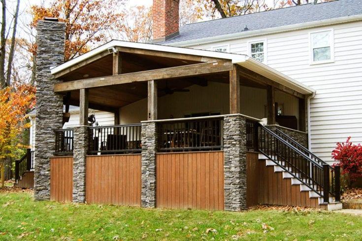 Custom TimberTech Deck/Porch, Malvern PA