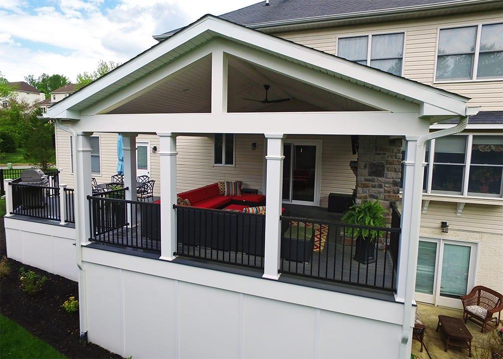 Custom TimberTech Deck/Porch, Downingtown PA 1