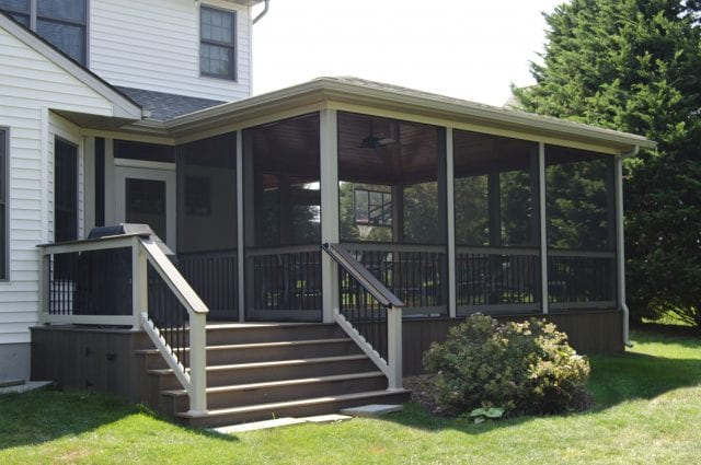 Custom TimberTech Deck/Screened Porch, Lancaster PA