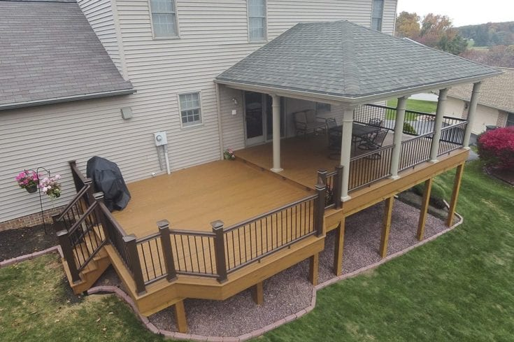 Custom TimberTech Deck/Porch, Red Lion PA