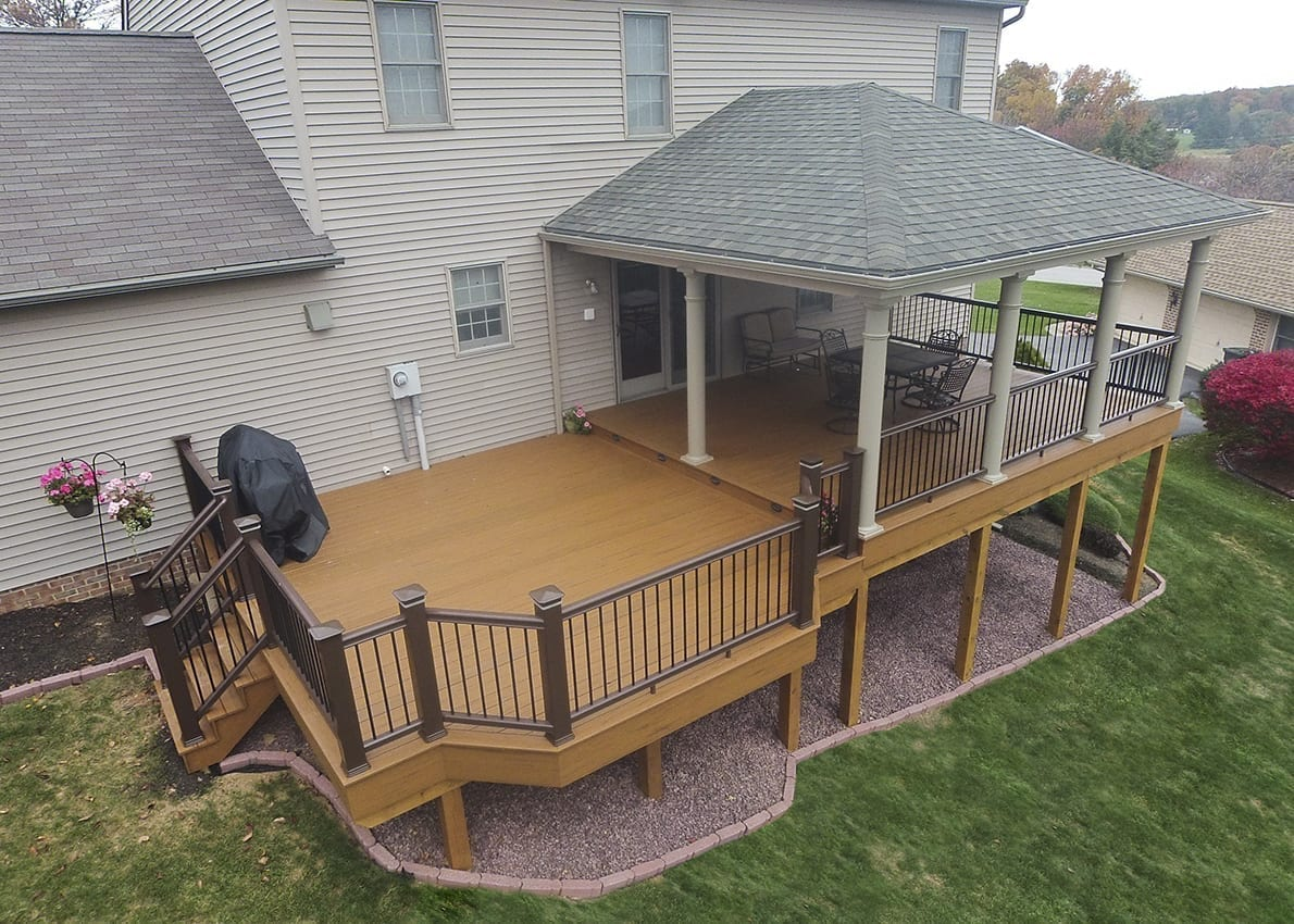 Custom TimberTech Deck/Porch, Red Lion PA 1