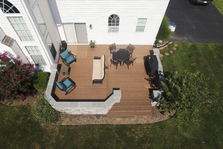 Custom TimberTech Deck, Phoenixville PA