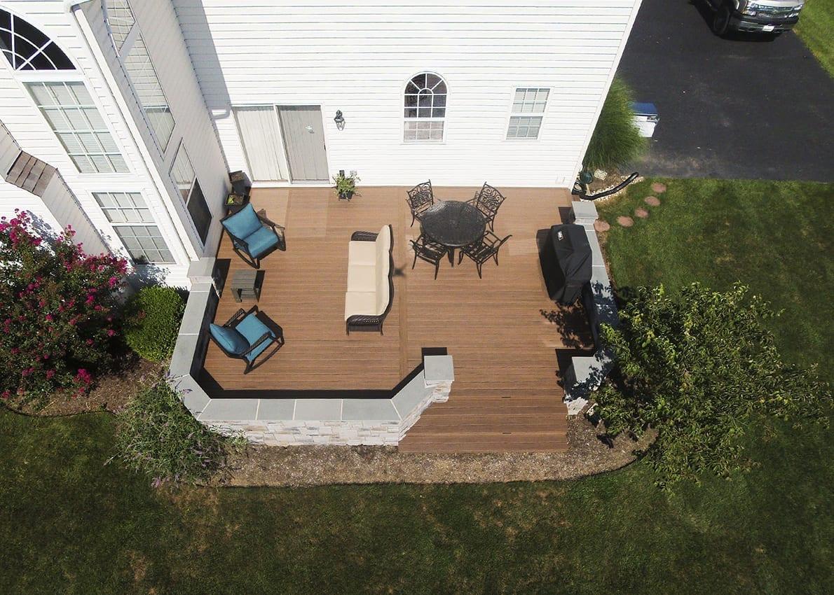 Custom TimberTech Deck, Phoenixville PA 1