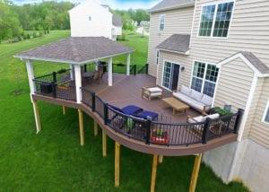 curved deck designs