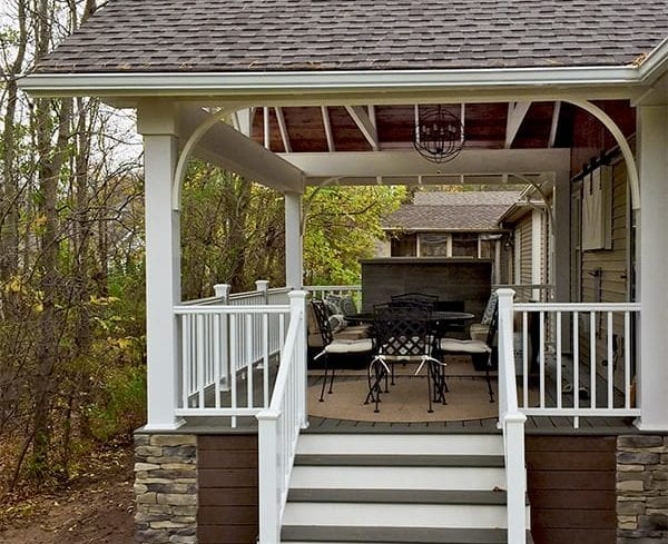 Custom TimberTech Deck/Porch, Webster, NY