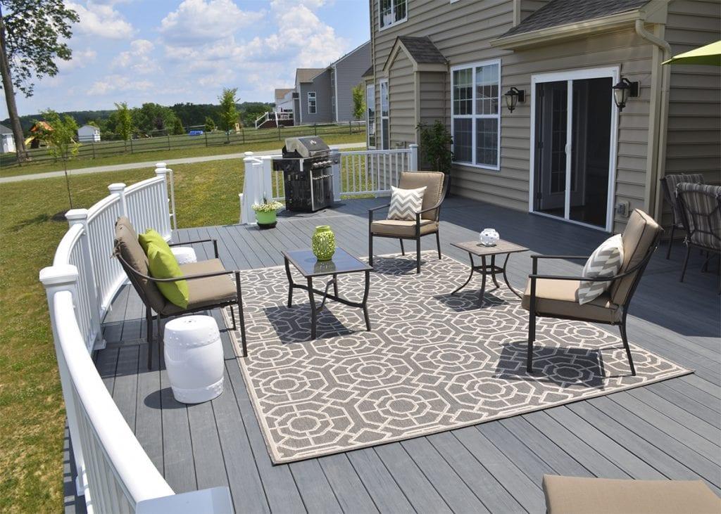 outdoor area rug accessory