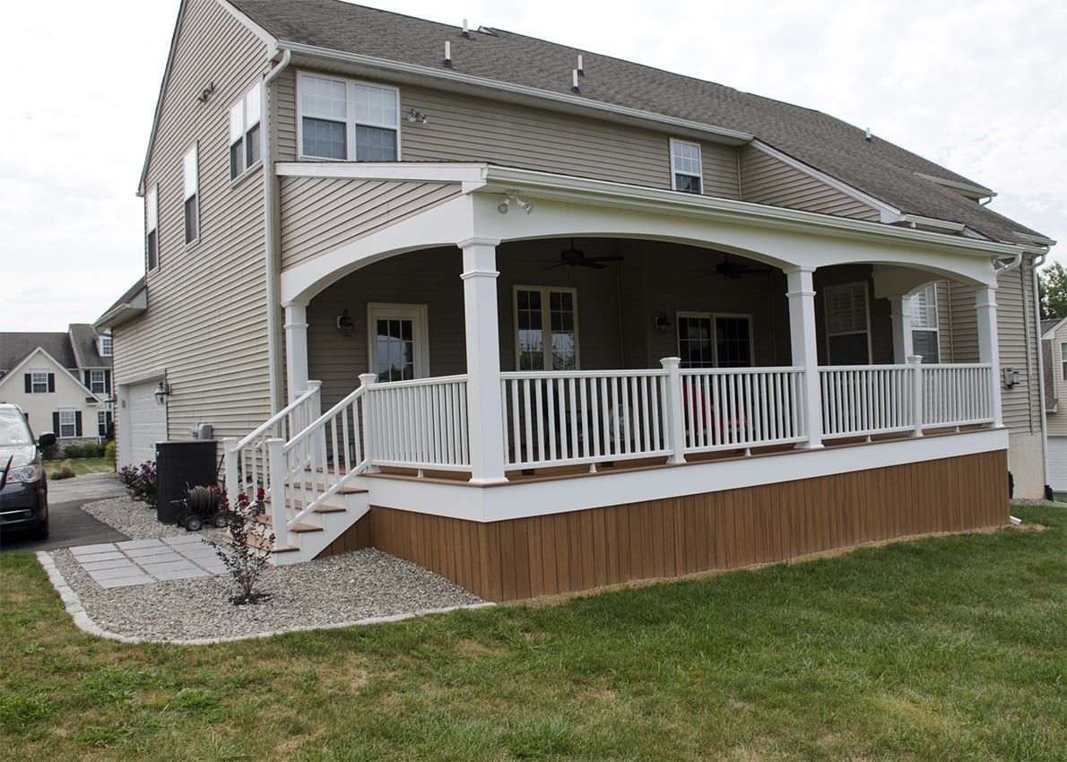 Custom Trex Deck/Porch, Downingtown PA 1