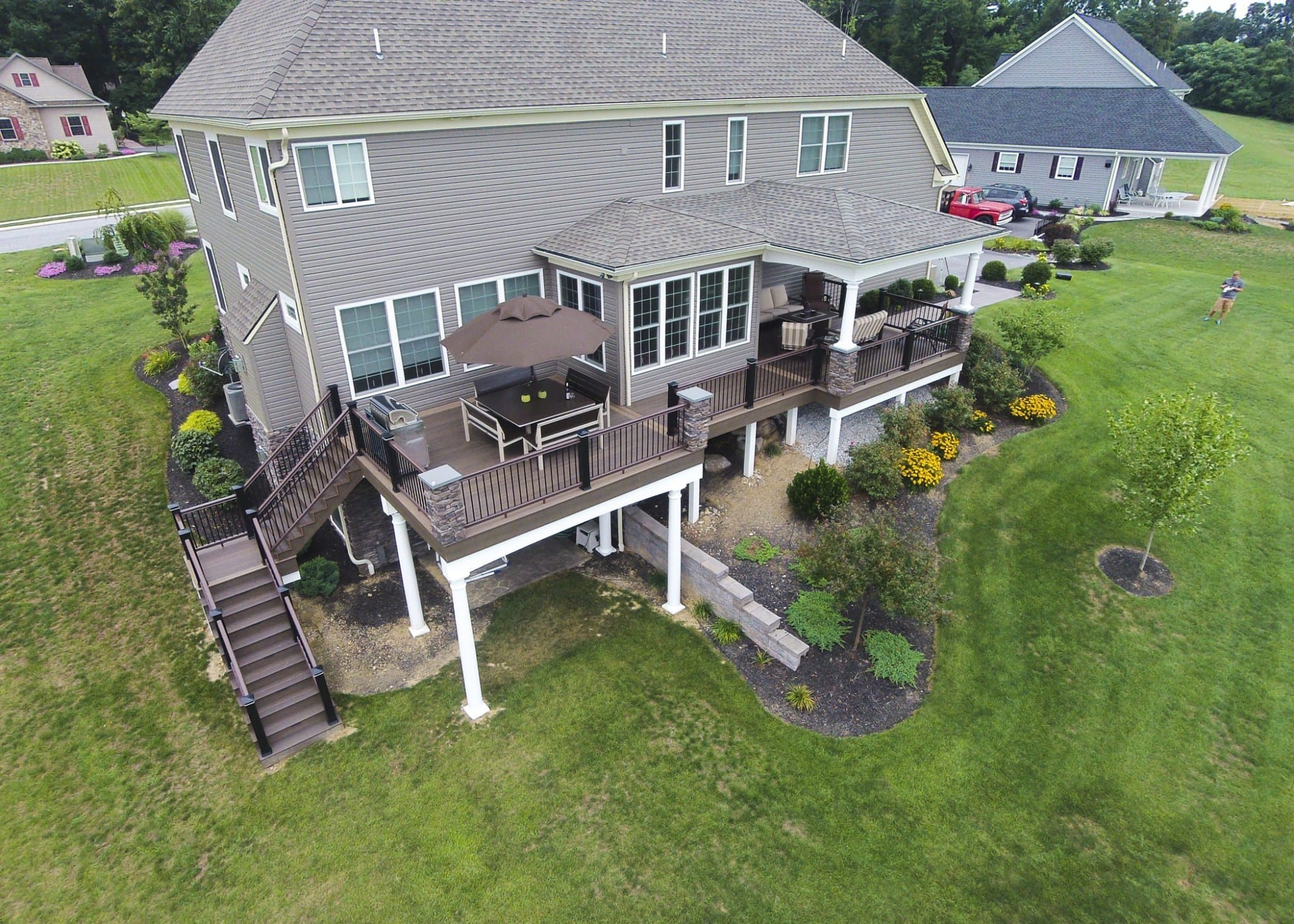Custom TimberTech Deck/Porch, Spring Grove PA 1