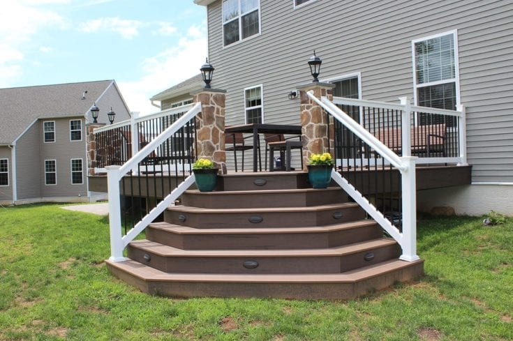 Custom TimberTech Deck/Patio, West Chester PA