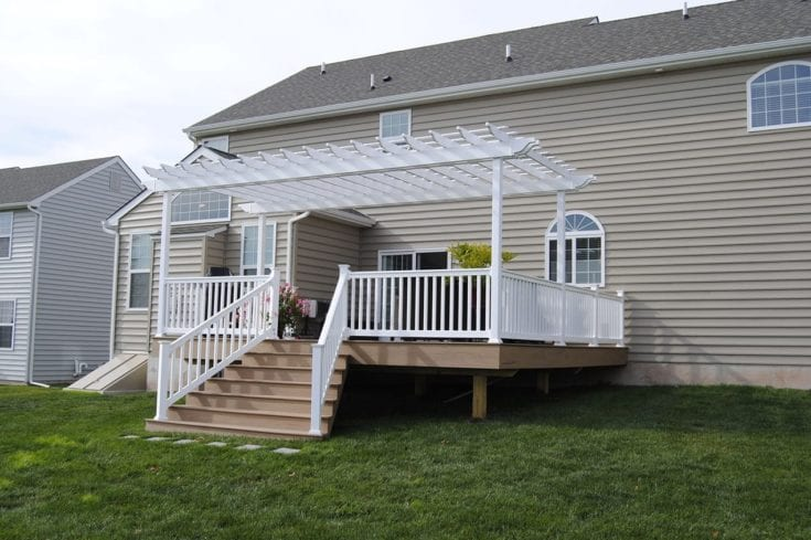 Custom TimberTech Deck/Pergola, Pottstown PA