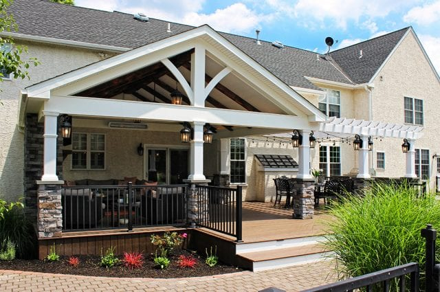 deck accessories used for outdoor living space