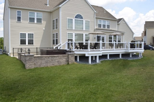 Custom TimberTech Deck/Patio, Downingtown PA