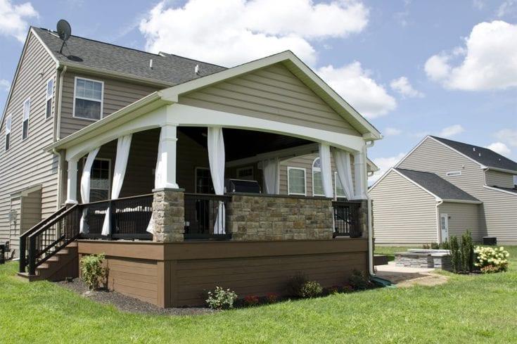 Custom TimberTech Deck/Porch, Avondale PA
