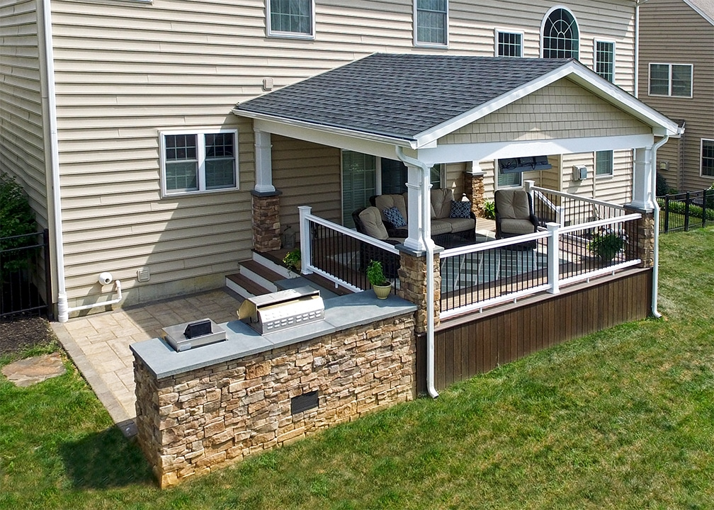 deck and porch in Lititz PA