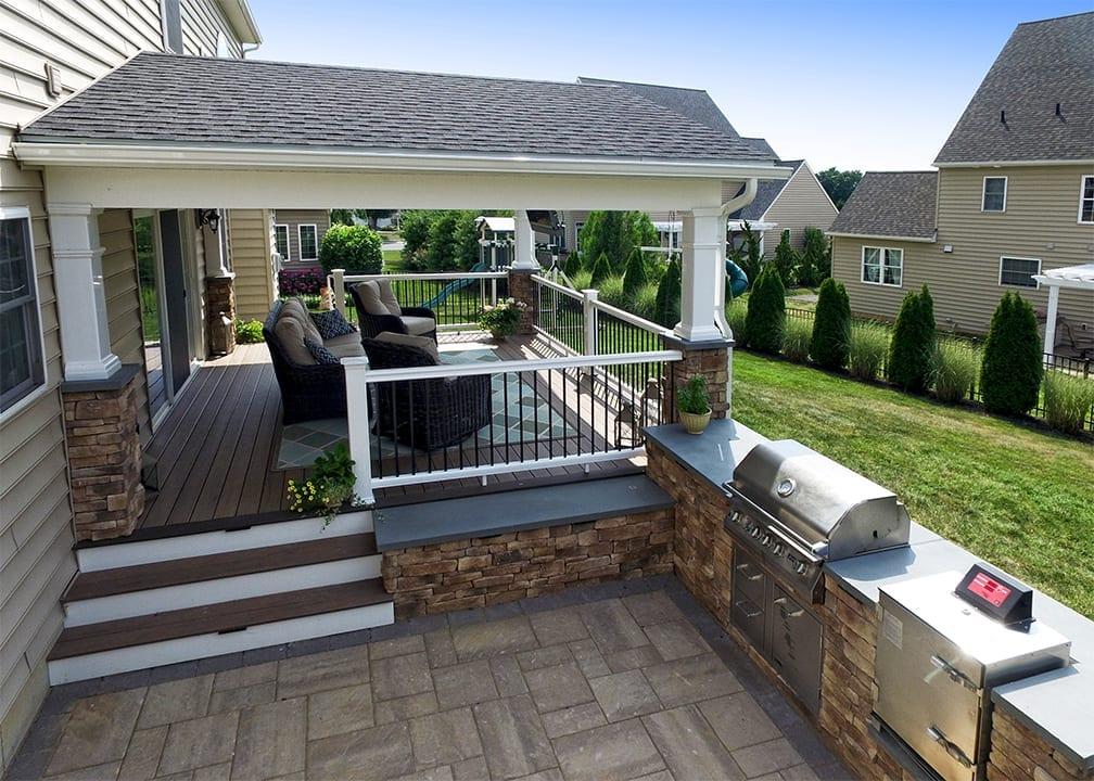 Custom TimberTech Deck/Porch, Lititz PA 1