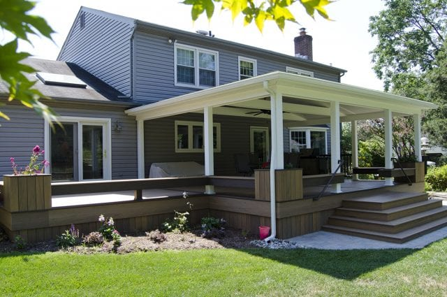 Custom TimberTech Deck/Porch, North Wales PA