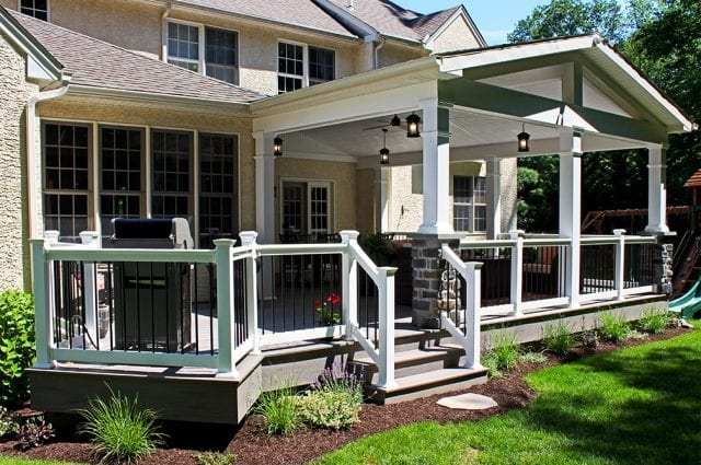 Custom TimberTech Deck/Porch, Downingtown PA