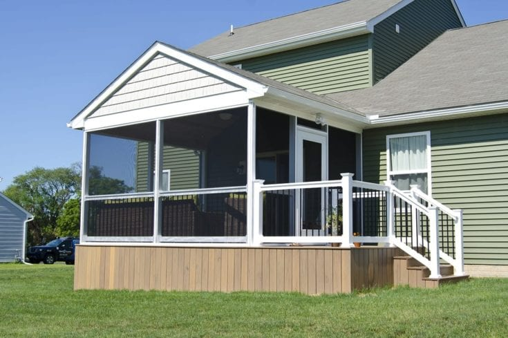 Custom TimberTech Deck/Screened Porch, West Grove PA